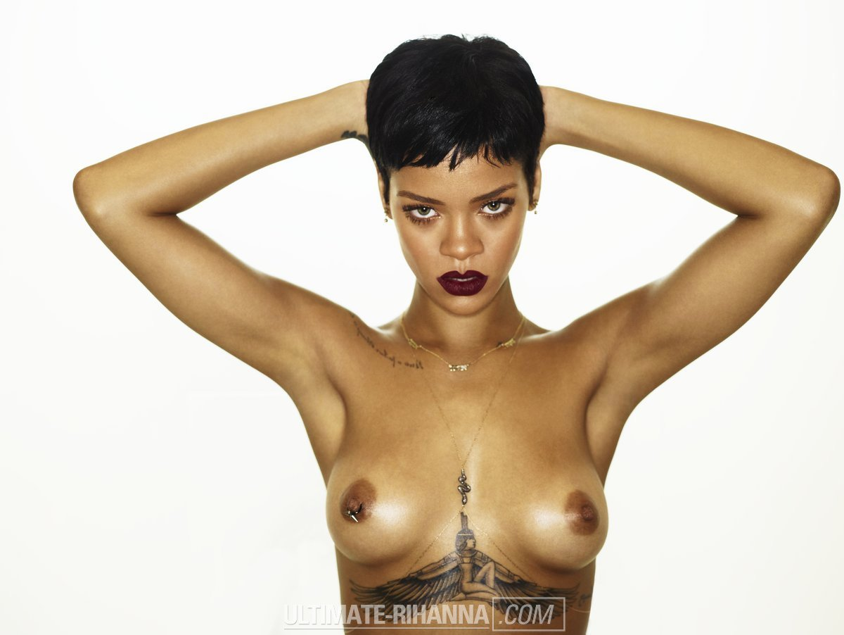 Rihanna – 'Unapologetic' topless photoshoot outtakes